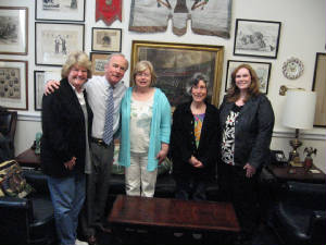 Teachers with Congressman Frelinghuysen